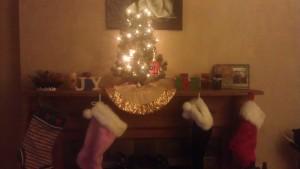 Our Charlie Brown Christmas Tree :)