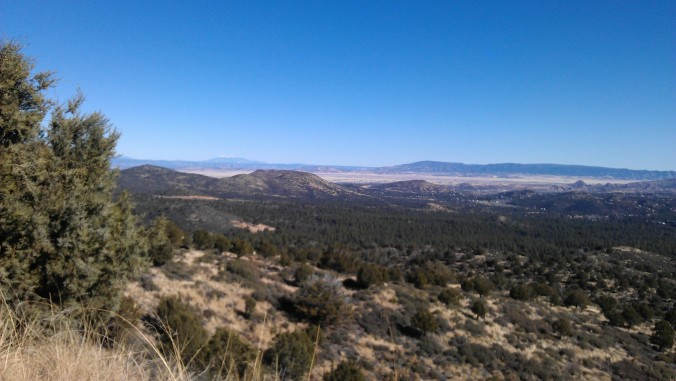 Gorgeous run in Prescott, AZ over Christmas