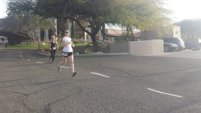Participated in a work-related 5K in Tucson.  I did come away with an overall win, but it was the inaugural event and very small.