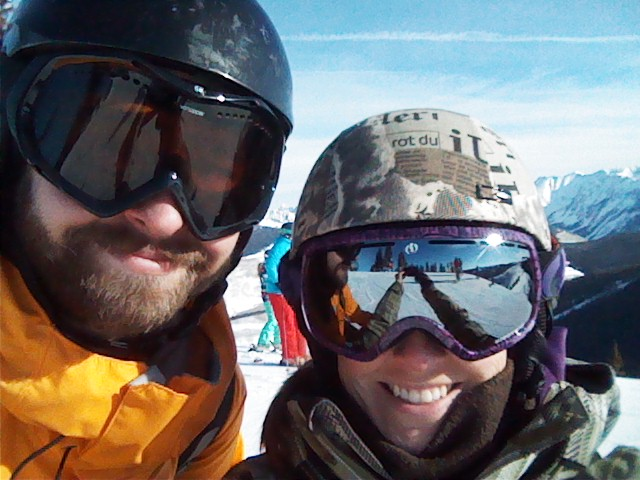 First day out on the slopes this year with Pete at Vail.