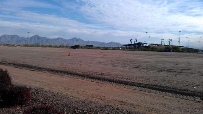 Work trip #2 to Arizona: Scottsdale - this is Talking Stick where the Rockies play!