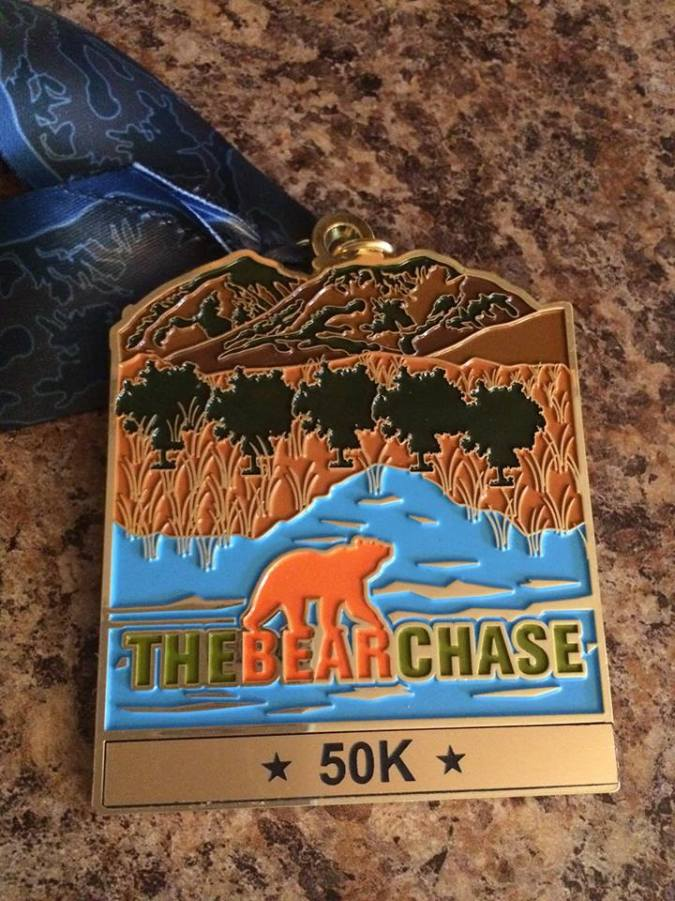 Where's the 38 mile medal?
