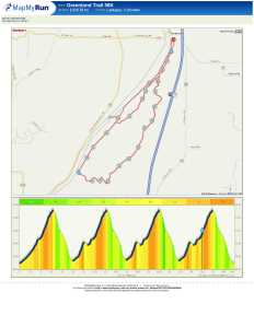 Greenland 50K Course Map & Profile
