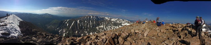 Mt. Quandary Summit 14,265'